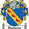 Dawson Coat Of Arms Irish by Heraldry