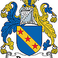 Dawson Coat Of Arms Londonderry Ireland by Heraldry