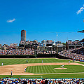 Day Game At Wrigley Field by Anthony Doudt