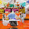 Day Of The Dead Altar, Mexico by John Shaw