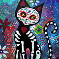 Day Of The Dead Cat by Pristine Cartera Turkus