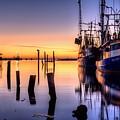 Daybreak On Pensacola Bay by JC Findley