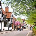 Days Gone By In Bishop's Stortford High Street by Gill Billington