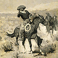 Days On The Range by Frederic Remington