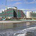Daytona Beach Panorama by Lynn Palmer