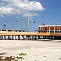 Daytona Beach Pier Pano by David Lee Thompson