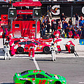 Daytona Speedway Race View by Alice Gipson