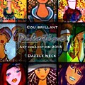 Dazzle Neck Art Collection by Pikotine Art