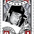 Dcla Carl Yastrzemski Fenway's Finest Stamp Art by David Cook Los Angeles