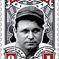 Dcla Jimmie Fox Fenway's Finest Stamp Art by David Cook Los Angeles