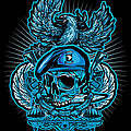 Dcla Skull Airborne All The Way by David Cook Los Angeles