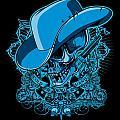 Dcla Skull Cowboy Cold Dead Hand 2 by David Cook Los Angeles