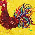 De Colores Rooster by Eloise Schneider Mote