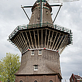 De Gooyer Windmill In Amsterdam by Artur Bogacki