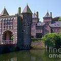 De Haar Castle And Moat by Bob Phillips