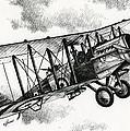 De Havilland Airco Dh.4 by James Williamson