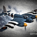 de Havilland Mosquito PR.Mk XVI by Tommy Anderson