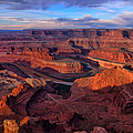 Dead Horse Point Sunrise by Greg Norrell