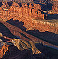 Dead Horse Point Sunrise Panorama by Mark Kiver