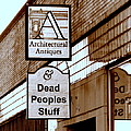 Dead Peoples Stuff by Bob and Kathy Frank