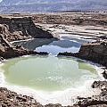Dead Sea Sinkholes  by Eyal Bartov