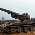 Death Dealer II  8 Inch Howitzer  At Lz Oasis Vietnam 1968 by California Views Mr Pat Hathaway Archives