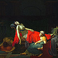 Death Of Cleopatra by Jean-Baptiste Regnault