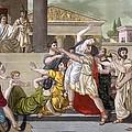 Death Of Virginia, Illustration by Jacques Grasset de Saint-Sauveur