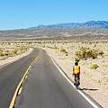 Death Valley Biking by Lutz Baar