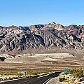 Death Valley Highway by Jack Schultz
