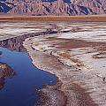 Death Valley Salt Stream 1-h by Tom Daniel