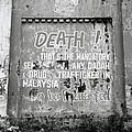 Death Warning by Shaun Higson