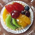Decadent Fruit Tart by Barbara McDevitt