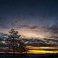 December Sunset by Paul Geilfuss