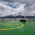 Deck On The Navimag Ferry by Henn Photography