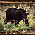 Deco Black Bear by JQ Licensing