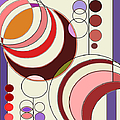 Deco Circles by Mary Bedy