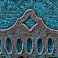 Deco Metal Blue by Sylvia Thornton