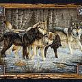 Deco Wolves by JQ Licensing
