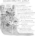 Deconstructing Lunch by Roz Chast