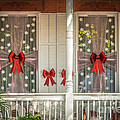 Decorated Christmas Windows Key West - Hdr Style by Ian Monk