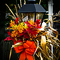 Decorated Lamp Post by Charlene Gauld