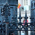 Decorative Iron Fence In New Orleans by Carol Groenen