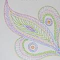 Decorative Leaf by Sonali Gangane