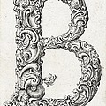 Decorative Letter Type B 1650 by Georgia Fowler