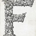 Decorative Letter Type F 1650 by Georgia Fowler