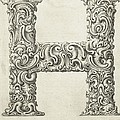 Decorative Letter Type H 1650 by Georgia Fowler