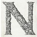 Decorative Letter Type N 1650 by Georgia Fowler
