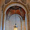 Decorative Light At The New York Public Library by Dave Mills