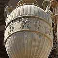 Decorative Urn - Palace Of Fine Arts Sf by Christiane Schulze Art And Photography